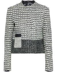 Proenza Schouler - Woven Leather Jacket - Lyst