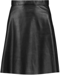 Muubaa - Pannala Leather Mini Skirt - Lyst