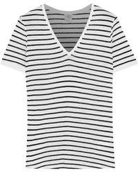 Baum und Pferdgarten - Jassy Striped Slub Jersey T-shirt - Lyst