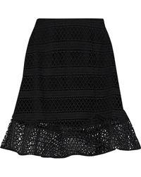 Raoul - Lace Mini Skirt - Lyst