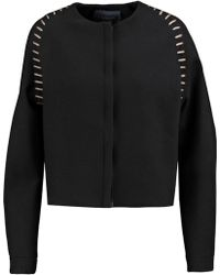 Lanvin - Embroidered Wool-blend Jacket - Lyst