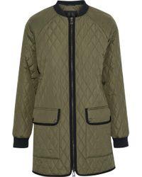 fff068f0ac0 Belstaff - Rackham Quilted Shell Jacket Army Green - Lyst