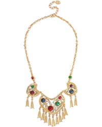 Ben-Amun - Woman 24-karat Gold-plated Stone Necklace Gold - Lyst