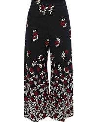 Lela Rose - Cotton-blend Jacquard Culottes - Lyst
