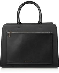 Victoria Beckham - City Victoria Leather Tote - Lyst