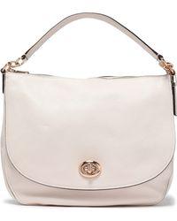 COACH - Leather Shoulder Bag - Lyst