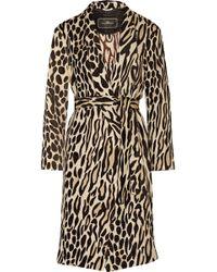By Malene Birger   Apponia Leopard-jacquard Coat   Lyst