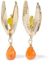 Rosantica - Gold-tone Crystal Earrings - Lyst