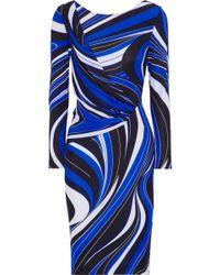 Emilio Pucci - Printed Cady Dress - Lyst