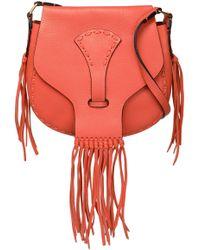 Valentino - Leather Shoulder Bag - Lyst