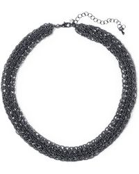 Kenneth Jay Lane - Bead Necklace - Lyst
