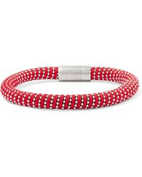 Carolina Bucci - Silver-tone Woven Bracelet - Lyst
