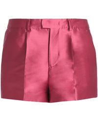 RED Valentino - Faille Shorts - Lyst