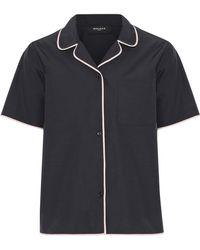 Rochas - Cotton-blend Shell Shirt - Lyst