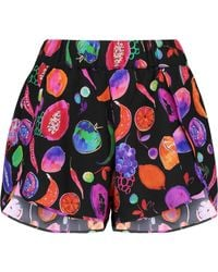 Matthew Williamson - Petal Printed Silk-crepe Shorts - Lyst
