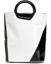 3.1 Phillip Lim - Two-tone Patent-leather Tote - Lyst