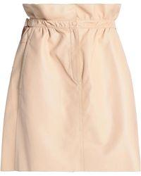 Nina Ricci - Leather Mini Skirt - Lyst