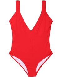 Iris & Ink - Simone Open-back Swimsuit - Lyst