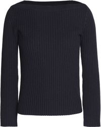 Theory - Merino Wool And Cotton-blend Jumper - Lyst