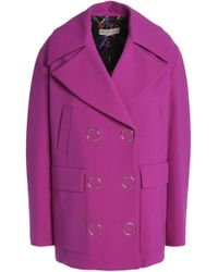 Emilio Pucci - Double-breasted Wool-blend Coat - Lyst