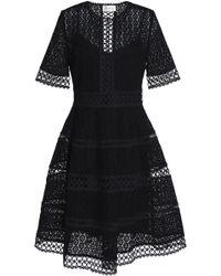 Zimmermann - Cotton Crocheted Lace Dress - Lyst