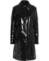 Love Moschino - Coated Cotton Coat - Lyst