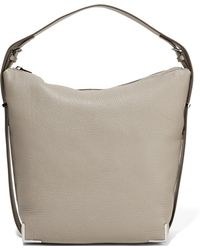 Alexander Wang - Prisma Textured-leather Shoulder Bag - Lyst
