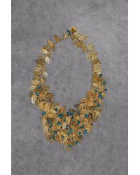 Rosantica Gold-tone Beaded Necklace Gold