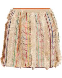 Missoni - Fringe Detail Skirt - Lyst