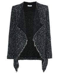 IRO - Campi Draped Bouclé-knit Jacket - Lyst