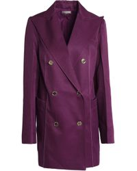 Nina Ricci - Double-breasted Wool And Silk-blend Jacket - Lyst