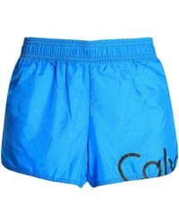 Calvin Klein - Printed Shell Shorts - Lyst