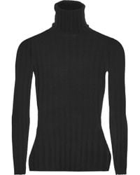 Madeleine Thompson - Makri Ribbed Wool And Cashmere-blend Turtleneck Jumper - Lyst