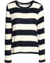 Splendid - Striped Intarsia-knit Sweater - Lyst