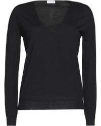 Vionnet - Lace-paneled Wool, Silk And Cashmere-blend Sweater - Lyst