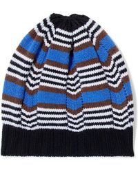 Lyst - Chinti   Parker Woman Pompom-embellished Striped Wool And ... c20e906ef220