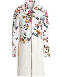 3.1 Phillip Lim - Studded Floral-print Cotton-blend Coat - Lyst