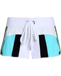NO KA 'OI - Honi Mesh-paneled Color-block Scuba Shorts - Lyst