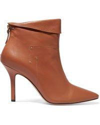 Jérôme Dreyfuss | Suzanne Leather Ankle Boots | Lyst
