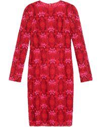 Dolce & Gabbana - Cotton-blend Guipure Lace Dress - Lyst