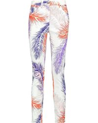 Emilio Pucci - Printed Mid-rise Skinny Jeans - Lyst