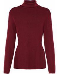 Zimmermann - Wool And Cashmere-blend Turtleneck Sweater - Lyst