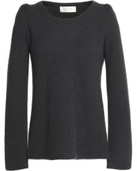 Goat - Knitted Cashmere Sweater Dark Gray - Lyst