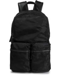 Valentino - Leather-trimmed Shell Backpack - Lyst