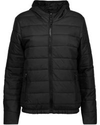Purity Active - Quilted Shell Hooded Jacket - Lyst
