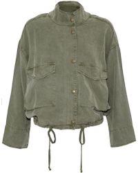 Splendid - Twill Jacket Army Green - Lyst