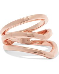 Arme De L'Amour - Gold-plated Ring - Lyst
