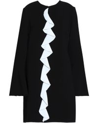 Rachel Zoe - Monner Ruffle-trimmed Crepe Mini Dress - Lyst