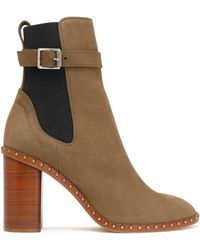 Rag & Bone - Romi Buckled Leather Ankle Boots - Lyst