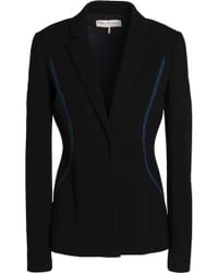 Emilio Pucci - Embroidered Ribbed-knit Blazer - Lyst